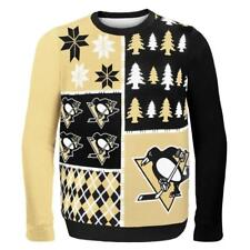 Pittsburgh Penguins Ugly Sweater - Busy Block - NEW NHL Christmas Holiday