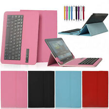 "USA Stock Bluetooth Keyboard Leather Case Cover For 7"" 9.7"" 10"" 10.1"" Tablet PC"