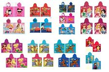 Disney Poncho Bade Poncho Badetuch Badeponcho Fairies,Minnie Mouse, Winnie Pooh