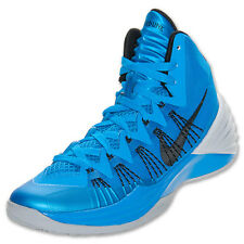 599537 401 New Nike Mens Hyperdunk Basketball Blue/Black/Wolf Grey Shoes 7-15
