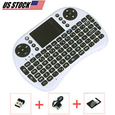 Wireless Keyboard Remote With TouchPad Mouse For Samsung Smart Hub TV Compatible