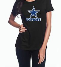 Dallas Cowboys Blue Glitter High Quality Graphic T-Shirt (Multiple Variations)