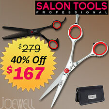 Joewell K2 Red Edition - Shear & Thinner Combo - AUTHORIZED DEALER