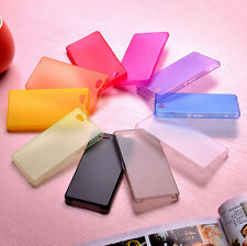 Ultra Thin Slim 0.3mm Crystal Clear PP Soft Case For Sony Xperia Z1 Compact Mini