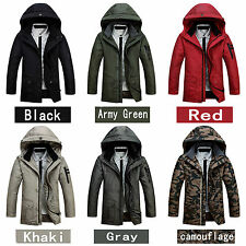 2014 Classic fashion Men's down jacket Winter Warm thicker Coat Hooded Coldproof