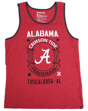 Men's Hurley University of Alabama Crimson Tide Tank Top