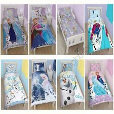 DISNEY FROZEN DUVET QUILT COVERS BEDDING ANNA ELSA OLAF