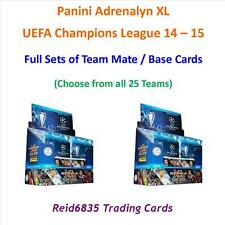 Adrenalyn XL Champions League 14 - 15 = Full Sets of Team Mate / Base Cards