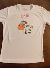 Ladies Funny Mad Cow T Shirt In Sizes 16, 18 & 20