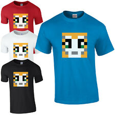 STAMPYLONGNOSE T-SHIRT - MR MENS & KIDS CAT GAMERS YOUTUBE STAMPY UNISEX NEW TOP