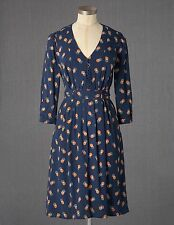 Boden Women's Brand New Anouk Dress - RRP £89 - Navy Shadow Dot