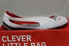 Women's Puma Ferrari Winning Diva Ballerina White/Red 30452202 Brand New In Box