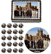 Downton Abbey Edible Birthday Cake Cupcake Toppers Party Decorations