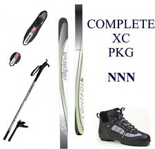NEW ALPINA CONTROL XC cross country NNN SKIS & BINDINGS & BOOTS & POLES - 195cm