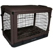 """Pet Gear """"The Other Door"""" Steel Crates in 27"""",36"""", or 42"""" size with Bolster Pad"""