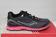 Youth's Saucony G Kinvara 2 Black/Silver/Pink SC41231 Athletic Sneakers New
