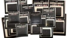 NFL Tri-Fold Black Leather Wallets All Teams Official Licensed - Pick Your Team!
