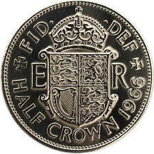 HIGHLY POLISHED HALF CROWNS COINS CHOICE OF DATE 1947-1967 WEDDING BIRTHDAY
