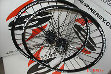 """New Spinergy Xyclone Disc 26"""" Colors PBO Spokes Wheel Set For Mountain Bike MTB"""