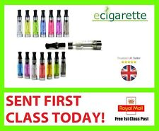 2x or 5x E SHISHA CIG ATOMIZER ATOMISER CLEAROMISER CLEAROMIZER MIXED COLOURS