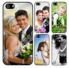 PERSONALISED CUSTOM PRINTED Hard Plastic Phone Case Cover for the iPhone 5 & 5S