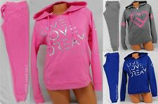 AEROPOSTALE WOMENS HOODIE AND SWEAT PANTS SET MSRP $84 LIVE LOVE DREAM SWEATS