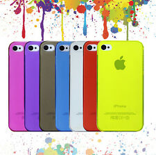 New Crystal Transparent Glossy Clear PC Hard Back Case Cover For iPhone 4 4S