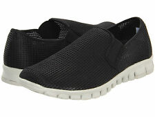 NoSoX Mens Wino Mesh Slip On Casual Loafers Sneakers Shoes [ Black ]