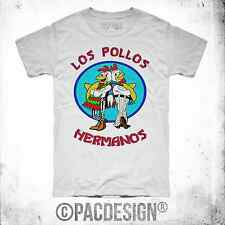 T-SHIRT UOMO BREAKING BAD LOS POLLOS HERMANOS WHY SO HAPPINESS PD0000A W