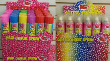 COLOURED HAIR SPRAY HAIRSPRAY DYE COMIC RELIEF WASH OUT FANCY NEW DRESS 125ML