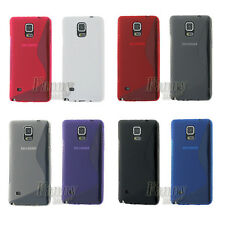 TPU Rubber Silicone Gel S-line Skin Cover Case for Samsung Galaxy Note 4,N910G