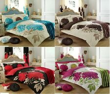 Kew 4pc Complete Duvet Quilt Cover Pillow Case Bed Sheet Bedsheet Bedding Set