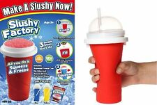 Slushy Factory Chill Factor Squeeze Cup Squeezy Freezy  Slush Maker  Iced Drink
