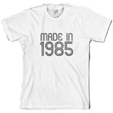 Made In 1984 - Mens 30th Birthday Present / Gift T-Shirt - 10 Colours