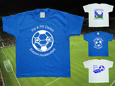 HUDDERSFIELD TOWN Football Baby/Kids/Childrens T-shirt Top Personalised-Any team