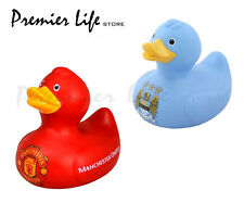 Official Football Team Bath Time Duck - Manchester City / Manchester United