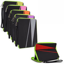 "H Water Resistant Nylon Pouch Sleeve Case Cover Stand for 7"" Tablets E-Readers"