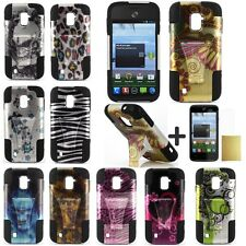 For ZTE Majesty Z796C N9511 Phone Case Soft Cover Kickstand  Screen Protector