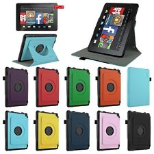 For 2014 Amazon Kindle Fire HD 7 inch Tablet Folio PU Leather Case Cover