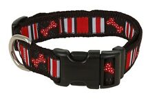 Douglas Paquette Dog Collars, Leads or Harnesses - Dog Bones R/B Style