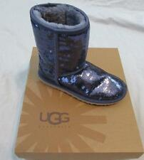 UGG womens classic short boots sparkles sequins 1003598 Night blue purple NEW