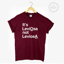 LEVIOSA NOT LEVIOSA HARRY POTTER T-SHIRT TEE TOP MAGIC PINTEREST leviosa