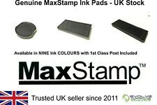 MAXSTAMP INK PADS - REPLACEMENT STAMP PAD FOR MAX STAMP - MAXUM