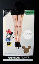 PRIMARK Ladies DISNEY MINNIE MOUSE SIGNATURE Pin-Up Seamed Tights Pantyhose