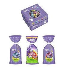 Assorted Milk Chocolate Mini Easter Eggs - Milka 100g Bag or 450g Gift Box