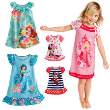 Lovely Kids Girls Baby Clothes Mickey Minnie Princess Party Costume Dress 2-5Y