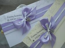 "Personalised Luxury Wedding/Evening Invitations ""LOVE STORY"" - NEW COLOURS!"