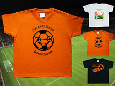 BARNET Football Baby/Kids/Childrens T-shirt Top Personalise-Any team-Name&Number