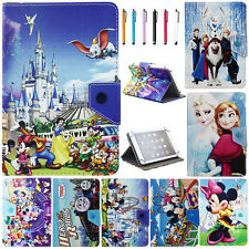 Universal Cartoon Mickey Minnie PU Leather Case Cover For Various 7 Inch Tablet