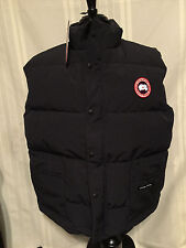 Canada Goose Mens Freestyle Down Filled Vest Navy Blue 4150M 100% Authentic NWT